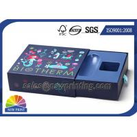 Custom Made Rigid Drawer Box Chipboard Slide Box Packaging for Cosmetics OEM Manufactures