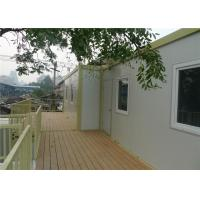Temporary Office Prefab Container House With 15mm Plywood Floor Manufactures
