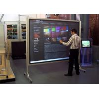 China High Brightness Capacitive Touchscreen Display , Touch Screen Interactive Whiteboard wholesale