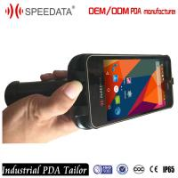 IP65 Rugged Mobile Phone PDA , 2D Barcode Handheld Scanner with Pistol Grips Manufactures