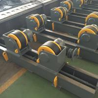 China Single Drive Conventional Welding Turning Roll Rotator Speed Adjust By VFD wholesale