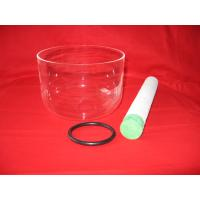 Buy cheap Clear singings bowl for therapy meditation from wholesalers