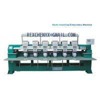 Six heads T-shirt cap embroidery machine/Multi-head Cap/Garment Embroidery Machine Manufactures