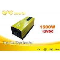 Off Grid Pure Sine Wave Inverter 1500w For Mobile AC Power Car Manufactures
