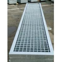 China Big Span Metal Bar Grating , High Strength Steel Floor Grating For Platform wholesale
