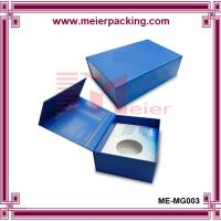 China China magnet cosmetic box, luxury design paper flip top box ME-MG003 on sale