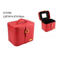 Handmade Nice Large Leather Jewelry Box Durable ISO9001 Certification Manufactures