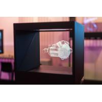 """500cd / m2 3D Holo Box Holographic Transparent Screen Display 32"""" Manufactures"""