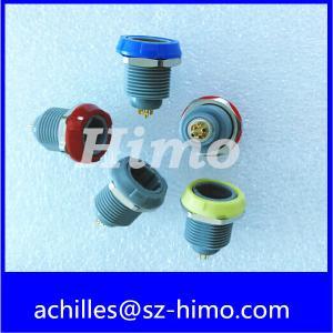 4 pin 1P series Lemo plastic panel mounted socket Manufactures