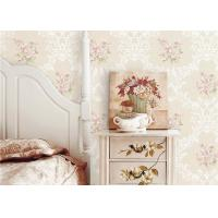 China Flowers Damask Printing Concise European Country Style Wallpaper 0.53*9.5M wholesale