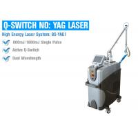 China Multifunctional Q Switched ND YAG Laser Machine For Tattoo Freckle Removal on sale