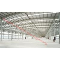 Prefabricated Industry Steel Building Designed By PKPM, 3D3S, X-Steel Manufactures