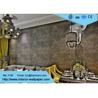 China 0.53*10m Soundproof Non-woven Modern Removable Wallpaper For The Livingroom on sale