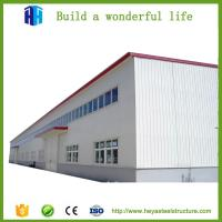 China prefab heavy steel structure workshop building materials design China supplier on sale