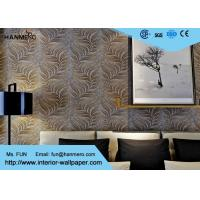 Embossed Modern Removable Wallpaper with Removable Vinyl Material 0.53*10M Manufactures