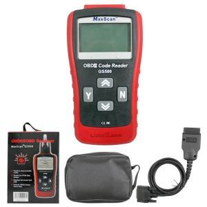 China GS500 MaxScan EOBD Auto Diagnostic Code Reader Supports All OBD2 Protocols on sale