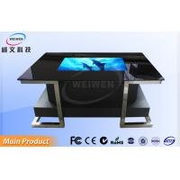 "Black Projected Capacitive Touch 32"" Waterproof Interactive Multi Touch Table Manufactures"