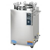 China Autoclave Vertical Pressure Steam Sterilizer Of Tainless Steel Structure on sale