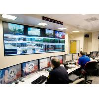 1920 x 1080 multi monitor wall control room video wall 3500 : 1 Contrast 178° Viewing Angle DDW-LW5506 Manufactures