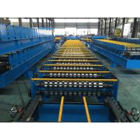 China 25 Stations Roof Panel Roll Forming Machine Coil Width 1000mm High Productive wholesale