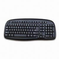 Waterproof Keyboard, Made of ABS Recycling and Supports Multi-language Versions Manufactures