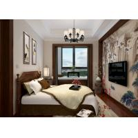 Bedroom Light Grey Modern Removable Wallpaper, Home Decorating Wallpaper Manufactures