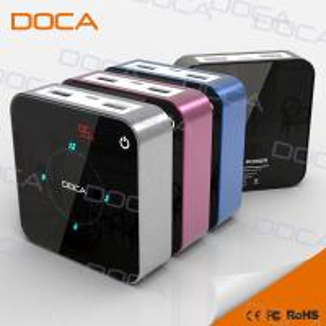 China elecrronic LED clock display power bank on sale