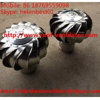 100mm no need power turbine ventilator fan for ventilation pipe stainless steel SS304 Manufactures