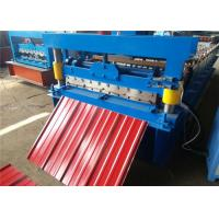 China 900 Metal Roofing Fabrication MachinesFive Rib 10-15 Meter / Min Hydraulic System on sale