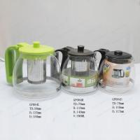 Glass Teapot Coffee Pot with stainless steel infuser Manufactures