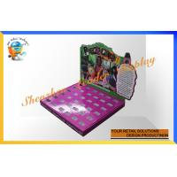 China Custom Cardboard Counter Display Boxes For Retail Stores , Toys Display Stand wholesale