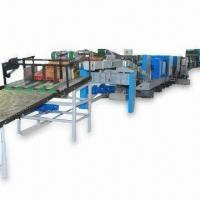 China Bottomer Machine, Making Paper Tubes to Flat-sealed Bottom Bags and PLC Control System on sale