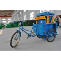 Buy cheap Stainless Steel Tricycle For Transport waste garbage vehicle from wholesalers