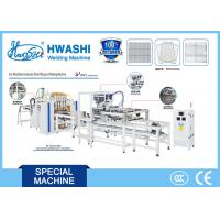 China Bucket Grill Wire Mesh Spot Welding Machine with Automatic Wire Filling System on sale