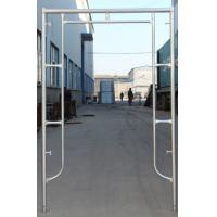 Factory Supplying Q235 Pre-Galvanized Door Type of Frame Scaffold for Building Project Manufactures