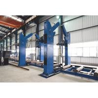 Tanks 360 Degree Overturning Rotator Chain Tilting Machine for H beam Manufactures