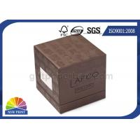 Soy Ink Printing Chipboard Box Packaging Front Window 3-Piece Rigid Gift Box Manufactures