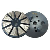 Round Plate Vecro Backed Diamond Grinding Discs for Polishing Concrete floor /Concrete diamond grinding tools Manufactures