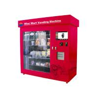 Automatic Retailing Vending Kiosk , 19 Inch Touch Screen Adjustable Mini Mart Coin Vending Machine Manufactures