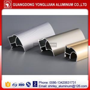 China Aluminum wardrobe door frame for sliding closet wardrobe door design,aluminum profile for wardrobe door on sale