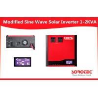 High Frequency Solar Power Inverters / 40A PWM Solar Based Inverter with 1KVA ~2KVA Capacity Manufactures
