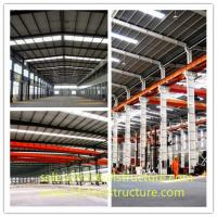 Portal Frame Style Structure Steel Sheds For Agriculture And Industry Manufactures