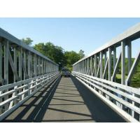 100 Meters Large Span Delta Frame Bridge Q345B Steel With Hot Dip Galvanized Manufactures