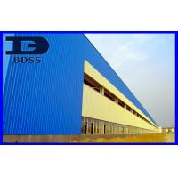 China Prefab Large Long Span Steel Structures For Industrial Park wholesale