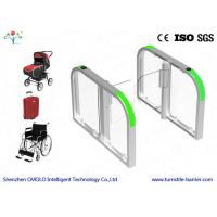 High Security Brushless Motor Speed Gate Turnstile RFID Biometric Access Control Systems Manufactures