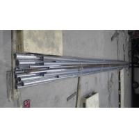 Construction Material ASTM A53 Schedule 40 Galvanized Steel Pipe , GI Steel Tubes Zn Coating 60-400g/M2 Manufactures