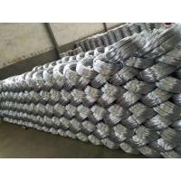China 20 Gauge Galvanized Iron Wire Binding / Low Carbon Steel Hexagonal Wire Mesh wholesale