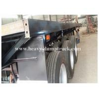 China Dual Axles 20 foot extendable flatbed trailer / semi truck flatbed Trailer with warranty wholesale