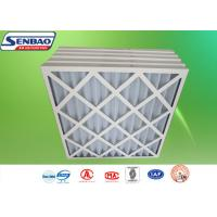China High Performance G3 / G4 Synthetic Filter Media / Industrial Primary Efficiency HVAC Pre Air Filter  on sale