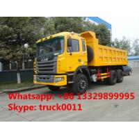 factoruy direct sale JAC brand 6*4 10 wheels drive 25ton dump truck , hot sale JAC LHD 6*4 15cbm dump tipper truck